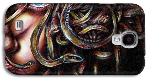 Inspired Paintings Galaxy S4 Cases - Medusa No. two Galaxy S4 Case by Hiroko Sakai