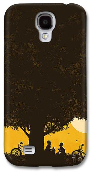 Sunsets Digital Art Galaxy S4 Cases - Meet me under the giant oak tree Galaxy S4 Case by Budi Satria Kwan