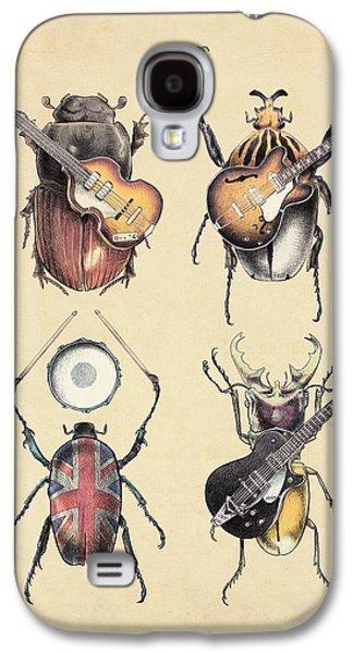 Meet The Beetles Galaxy S4 Case by Eric Fan