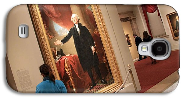 Dolley Galaxy S4 Cases - Meeting George Washington Galaxy S4 Case by Cora Wandel
