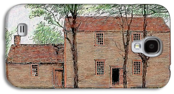 Meeting House Of The Quakers Galaxy S4 Case by Prisma Archivo