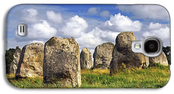 Ancient Galaxy S4 Cases - Megalithic monuments in Brittany Galaxy S4 Case by Elena Elisseeva