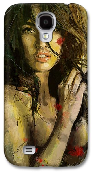Megan Fox Galaxy S4 Case by Corporate Art Task Force