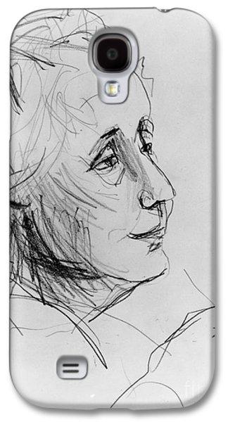 20th Drawings Galaxy S4 Cases - Melanie Klein Galaxy S4 Case by Granger