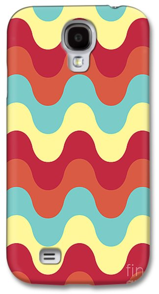 Melting Colors Pattern Galaxy S4 Case by Freshinkstain