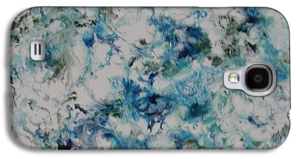 Aeriel View Paintings Galaxy S4 Cases - Melting Ice 2 Galaxy S4 Case by Bruce Brand