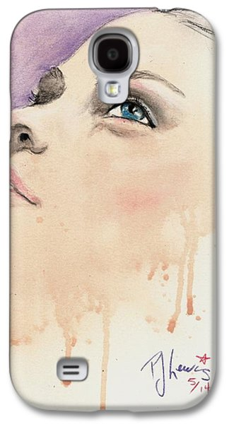 Youthful Galaxy S4 Cases - Melting Youthful Beauty Galaxy S4 Case by P J Lewis