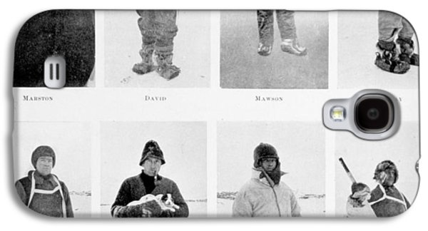 1874 Galaxy S4 Cases - Members of the British Antarctic Expedition at the start of the journey Galaxy S4 Case by English School