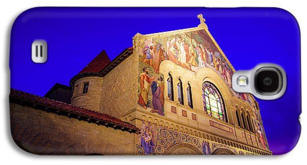 Quad Galaxy S4 Cases - Memorial Church Stanford University Galaxy S4 Case by Scott McGuire