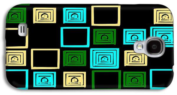 Black Digital Art Galaxy S4 Cases - Memories Galaxy S4 Case by Anastasiya Malakhova