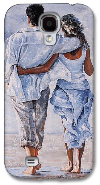 Memories Of Love Galaxy S4 Case by Emerico Imre Toth