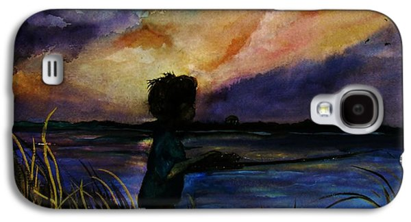 Sun Galaxy S4 Cases - Memories of the Beach Galaxy S4 Case by Lil Taylor