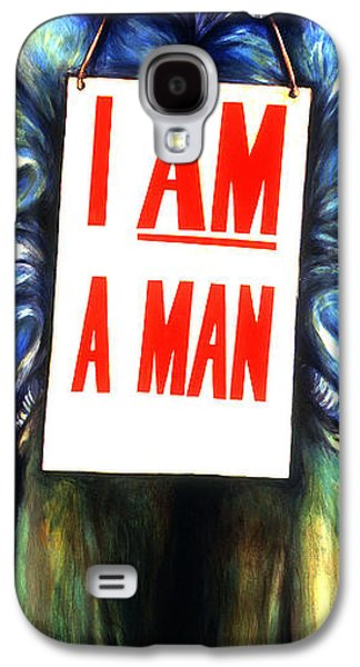 Discrimination Paintings Galaxy S4 Cases - Memphis sanitation Galaxy S4 Case by Cardell Walker