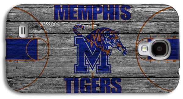 Dunking Galaxy S4 Cases - Memphis Tigers Galaxy S4 Case by Joe Hamilton