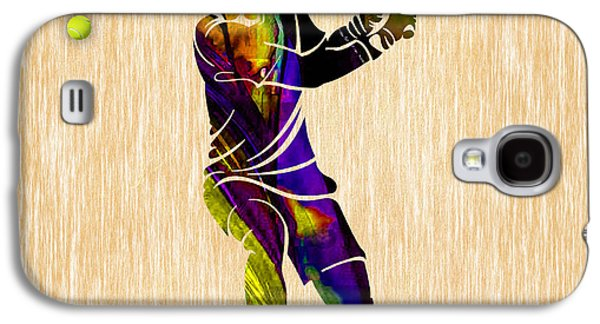 Tennis Galaxy S4 Cases - Mens Tennis Galaxy S4 Case by Marvin Blaine