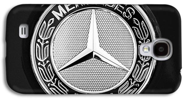 Recently Sold -  - Sports Photographs Galaxy S4 Cases - Mercedes-Benz 6.3 Gullwing Emblem Galaxy S4 Case by Jill Reger