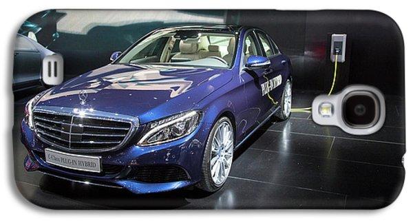Mercedes-benz C-class Plug-in Hybrid Car Galaxy S4 Case by Jim West