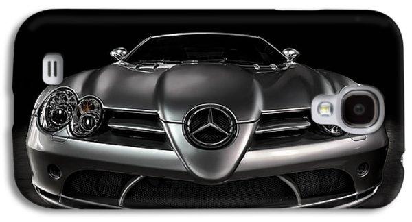 Sport Digital Art Galaxy S4 Cases - Mercedes McLaren SLR Galaxy S4 Case by Douglas Pittman