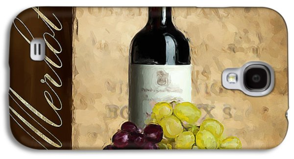 Grape Vineyard Galaxy S4 Cases - Merlot III Galaxy S4 Case by Lourry Legarde