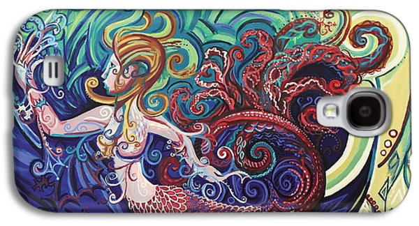 Mermaid Gargoyle Galaxy S4 Case by Genevieve Esson