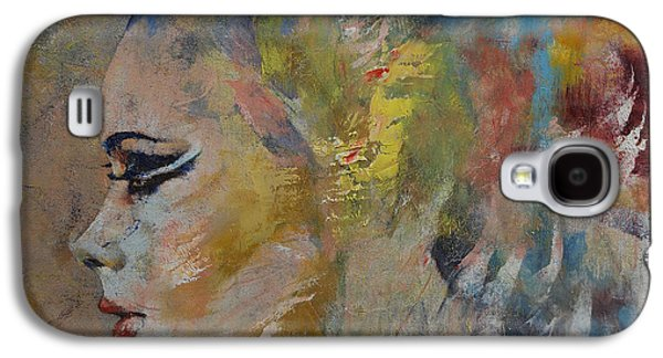 Busts Galaxy S4 Cases - Mermaid Galaxy S4 Case by Michael Creese