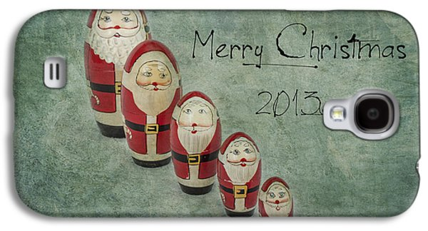 Jeff Swanson Galaxy S4 Cases - Merry Christmas Galaxy S4 Case by Jeff Swanson