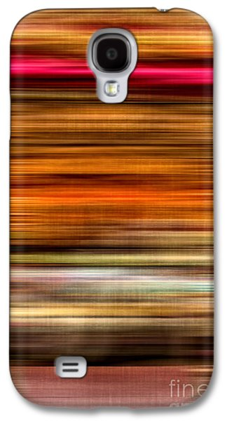 Earth Tones Photographs Galaxy S4 Cases - Merry Go Round Abstract Galaxy S4 Case by Edward Fielding