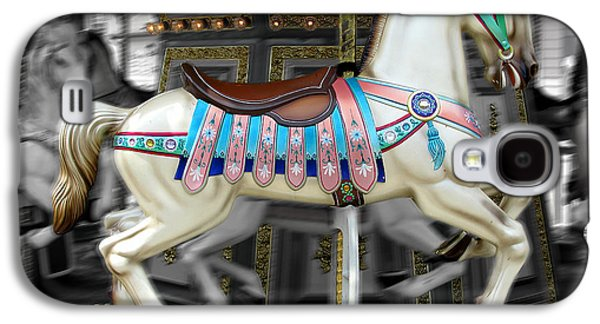 Original Art Photographs Galaxy S4 Cases - Merry Go Round Galaxy S4 Case by Colleen Kammerer