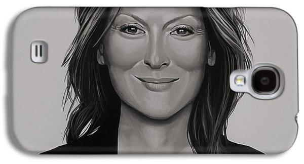 Madison Galaxy S4 Cases - Meryl Streep Galaxy S4 Case by Paul  Meijering