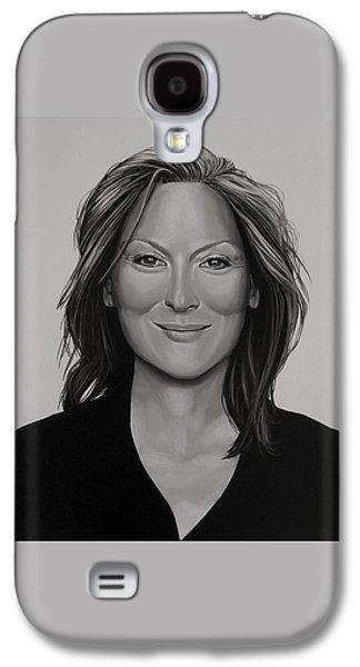 Meryl Streep Galaxy S4 Case by Paul Meijering
