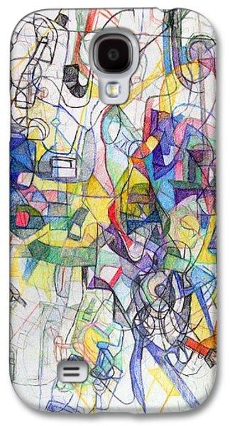 Inner Self Galaxy S4 Cases - Mesirut Nefesh 1 Galaxy S4 Case by David Baruch Wolk