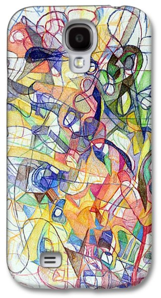 Inner Self Galaxy S4 Cases - Mesirut Nefesh 2 Galaxy S4 Case by David Baruch Wolk