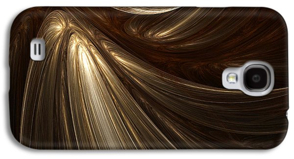 Light And Dark  Galaxy S4 Cases - Mesmerize Galaxy S4 Case by Lourry Legarde