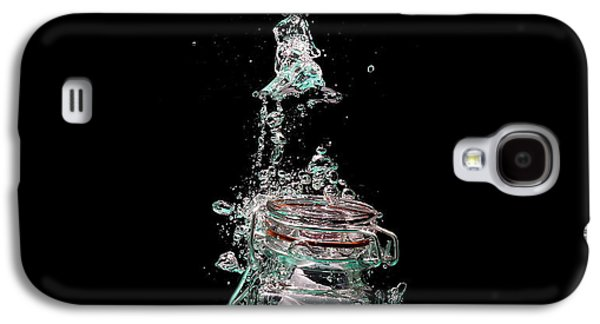 Water Jars Galaxy S4 Cases - Message in sinking bottle Galaxy S4 Case by Simon Bratt Photography LRPS