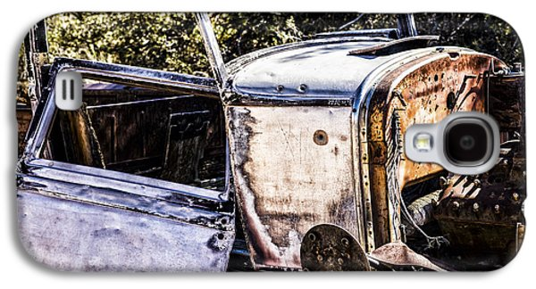 Rusted Cars Galaxy S4 Cases - Metal and Rust Galaxy S4 Case by Joseph S Giacalone