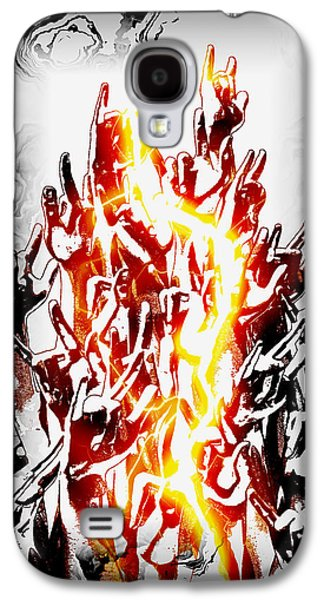 Frederico Borges Galaxy S4 Cases - Metal On Galaxy S4 Case by Frederico Borges