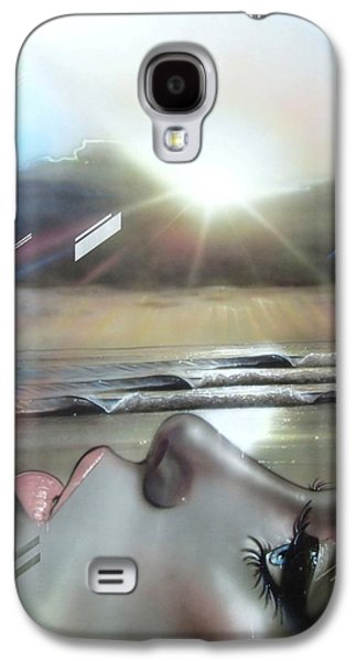 Sunset Prints Galaxy S4 Cases - Metallic Visions Galaxy S4 Case by Christian Chapman Art