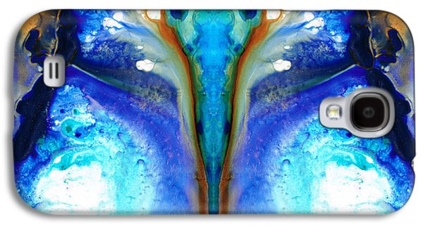Earth Tones Galaxy S4 Cases - Metamorphosis - Abstract Art By Sharon Cummings Galaxy S4 Case by Sharon Cummings