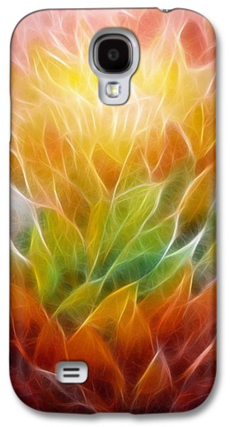 Abstract Expression Galaxy S4 Cases - Metamorphosis Galaxy S4 Case by Ann Croon