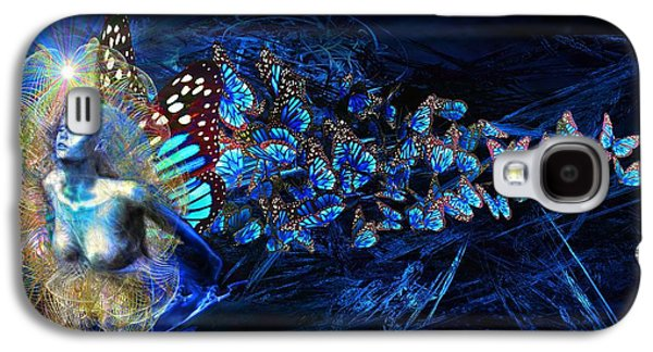 Abstract Movement Galaxy S4 Cases - Metamorphosis Galaxy S4 Case by Michael Durst