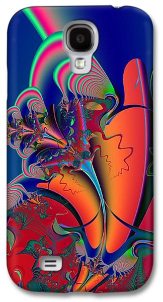 Abstract Forms Galaxy S4 Cases - Metamorphosis Galaxy S4 Case by Solomon Barroa
