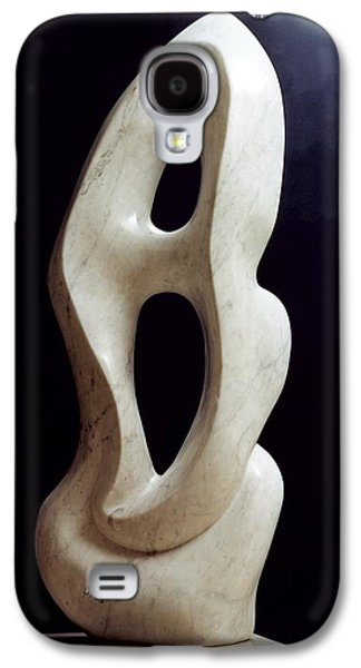 Abstracts Sculptures Galaxy S4 Cases - Metaphysical shape Galaxy S4 Case by Shimon Drory