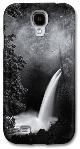 Landscape Acrylic Prints Galaxy S4 Cases - Metlako Falls Dark Galaxy S4 Case by Darren  White