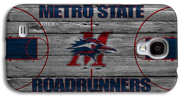 Dunk Galaxy S4 Cases - Metropolitan State Roadrunners Galaxy S4 Case by Joe Hamilton