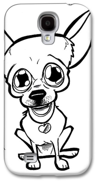 Owner Drawings Galaxy S4 Cases - Mexican Dog Galaxy S4 Case by Big Mike Roate