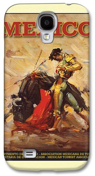 Digital Galaxy S4 Cases - Mexico Bullfighter Galaxy S4 Case by Gary Grayson
