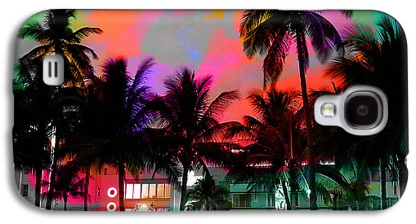 Miami Beach Galaxy S4 Case by Marvin Blaine