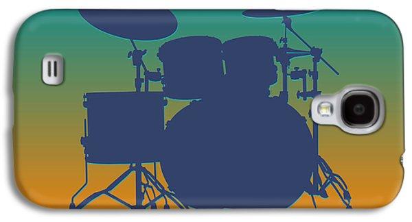 Miami Dolphins Drum Set Galaxy S4 Case by Joe Hamilton