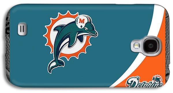 Miami Photographs Galaxy S4 Cases - Miami Dolphins Galaxy S4 Case by Joe Hamilton