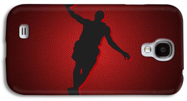 Lebron Galaxy S4 Cases - Miami Heat Lebron James Galaxy S4 Case by Joe Hamilton